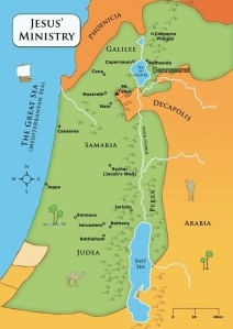 Israel Jesus Map